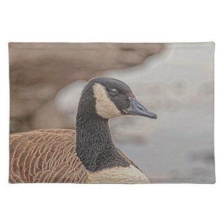 Canadian Goose Portrait Placemat