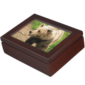 Canadian Grizzly Memory Box
