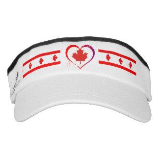 Canadian heart visor