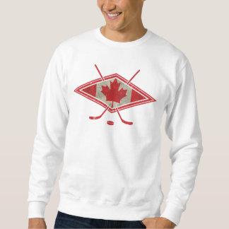 Canadian Hockey Flag Logo Sweatshirt
