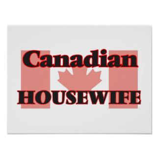 Canadian Housewife Poster
