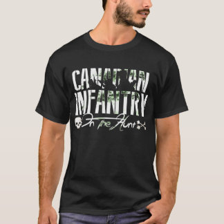 Canadian Infantry On The Hunt DARK T-Shirt