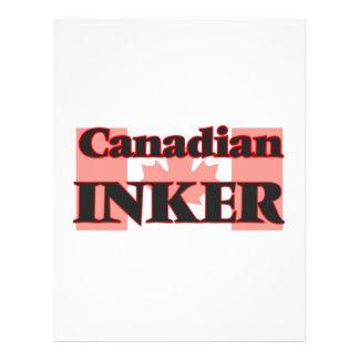 Canadian Inker Flyer Design