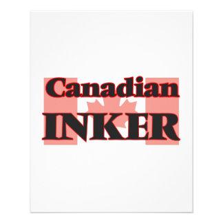 Canadian Inker Personalized Flyer