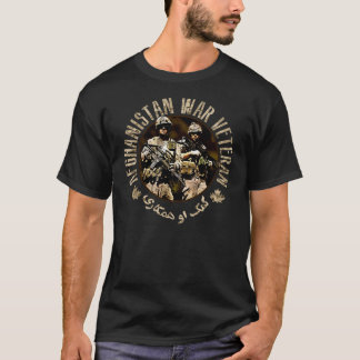 Canadian ISAF Afghanistan Veteran DARK T-Shirt