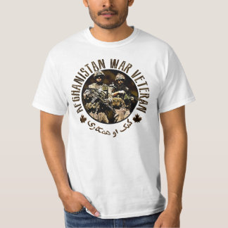 Canadian ISAF Afghanistan Veteran T-Shirt