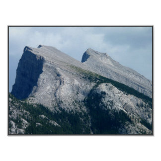 Canadian Landscape Banff Rocky Mountains Print