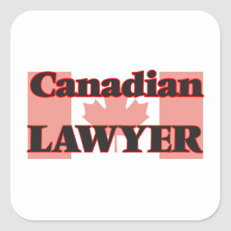 Canadian Lawyer Square Sticker