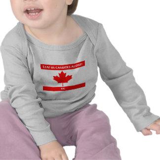 Canadian Leaf Design Shirts