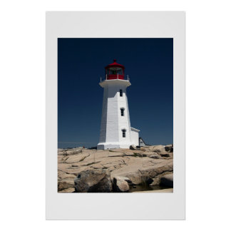 Canadian Light House Poster