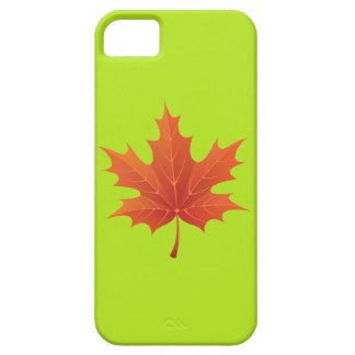 Canadian Maple Case For The iPhone 5