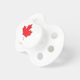 Canadian Maple Leaf Baby Pacifiers