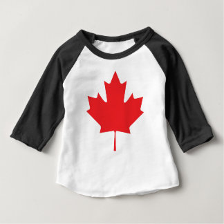 Canadian Maple Leaf Baby T-Shirt