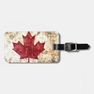 Canadian Maple Leaf Bag Tag