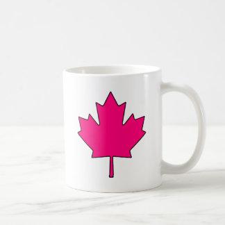 Canadian Maple Leaf Canada National Symbol Basic White Mug