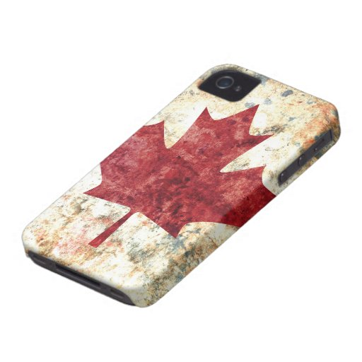 Canadian Maple Leaf iPhone 4 Case-Mate Cases