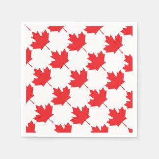 Canadian Maple Leaf Disposable Napkin