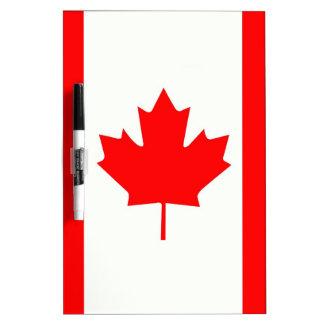 Canadian Maple Leaf Dry Erase Board