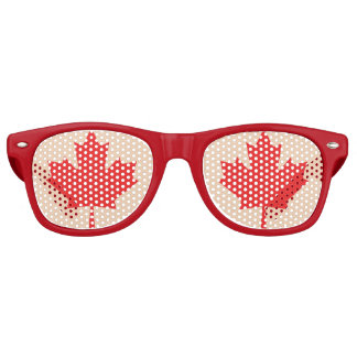 Canadian Maple Leaf Glasses