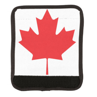 Canadian Maple Leaf Luggage Handle Wrap