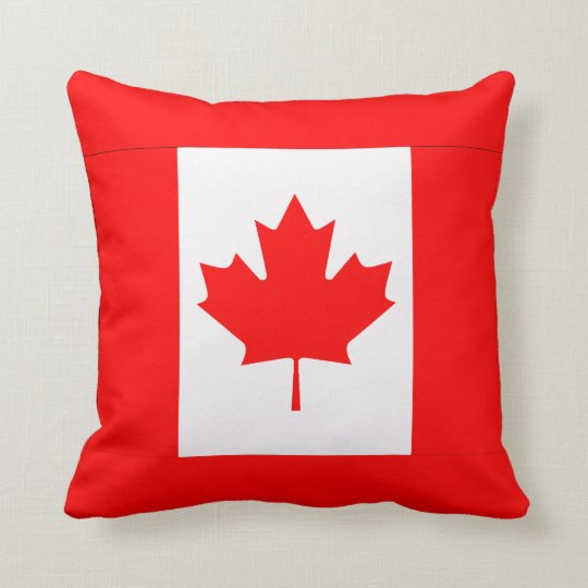 Canadian Maple Leaf Pillows