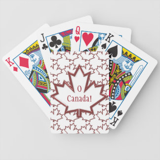 Canadian Maple Leaf Playing Cards