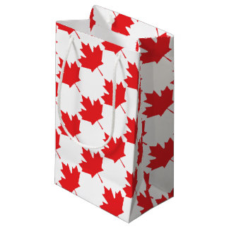Canadian Maple Leaf Small Gift Bag