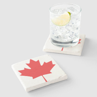 Canadian Maple Leaf Stone Coaster