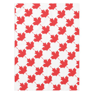 Canadian Maple Leaf Tablecloth