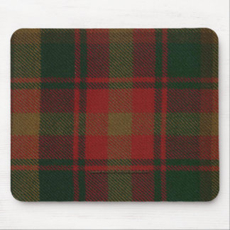 Canadian Maple Leaf Tartan Mousepad