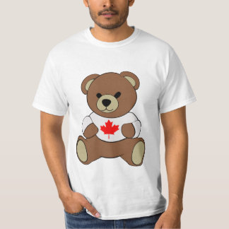 Canadian Maple Leaf Teddy T-Shirt