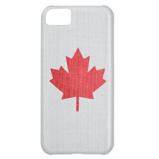 Canadian Maple Leaf Themed Case Case For iPhone 5C