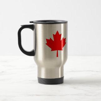 Canadian Maple Leaf Travel Mug
