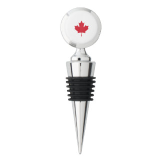 Canadian Maple Leaf Wine Stopper