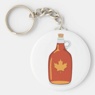 Canadian Maple Syrup Keychain