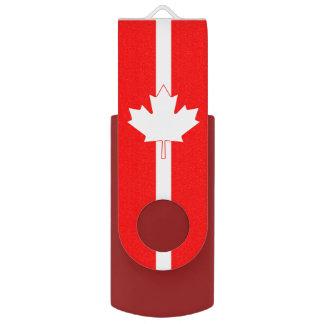 Canadian MapleLeaf Personalised USB Flash Drive