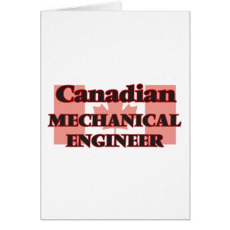 Canadian Mechanical Engineer Greeting Card