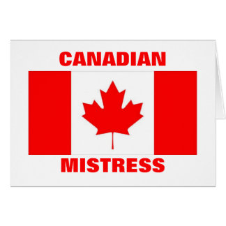 CANADIAN MISTRESS CARD