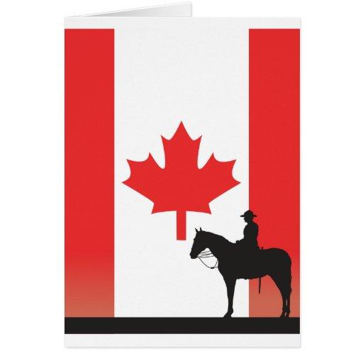 Canadian Mountie Greeting Cards Zazzle