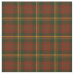 Canadian National Maple Leaf Tartan Fabric