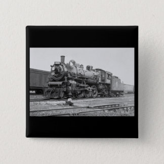 Canadian National Railroad Engine 5078 2 Inch Square Button