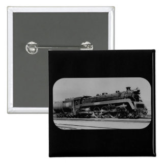 Canadian National Railroad Engine 5700 Toronto 2 Inch Square Button