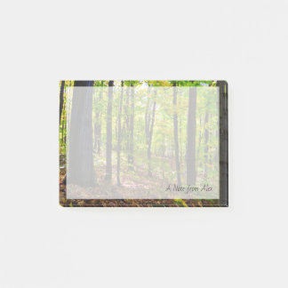 Canadian Nature | Vibrant Forest Post-it Notes