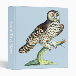 Canadian Night Owl Notebook Binder Saverio Manetti