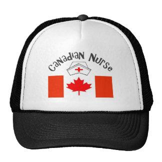 Canadian Nurse (Canadian Flag) Nurse Cap Trucker Hat