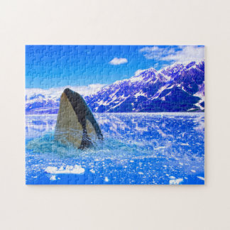 Canadian Orca Whales. Jigsaw Puzzle