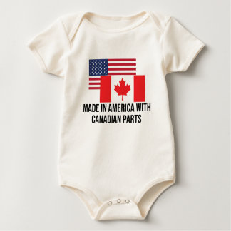 Canadian Parts Baby Bodysuit