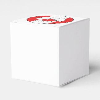 Canadian Peace Sign Favor Box