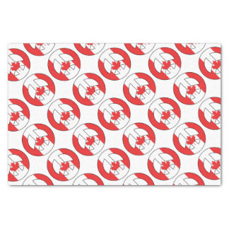 Canadian Peace Sign Tissue Paper