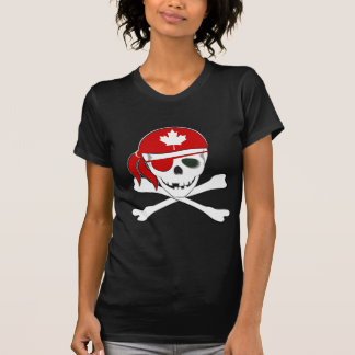 Canadian Pirate T Shirt